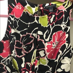 Banana republic floral dress - size 2